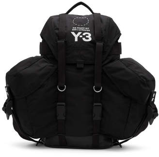 Y-3 Y 3 Black Utility Backpack