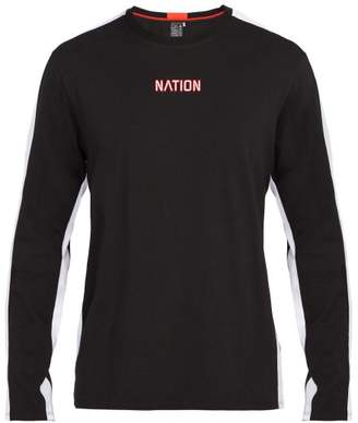 P.e Nation - Turnover Ls Long Sleeve Cotton Top - Mens - Black