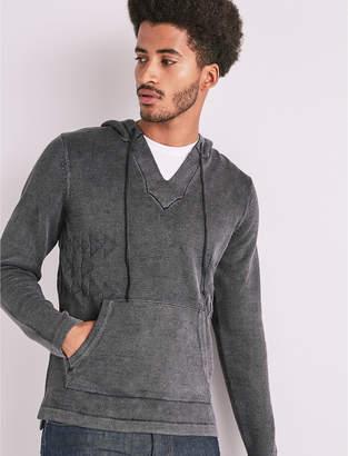 Lucky Brand Jacquard Baja Sweater