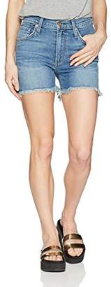 James Jeans Women's Mimi High Rise Frayed Shorts in