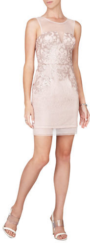 BCBGMAXAZRIABcbgmaxazria Abigail Sequined Lace Knit Dress