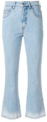 ATTICO cropped jeans