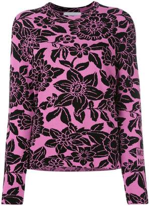 Christian Wijnants floral patterned sweater