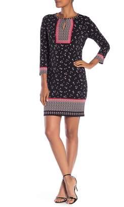 Max Studio Matte Print Jersey Dress