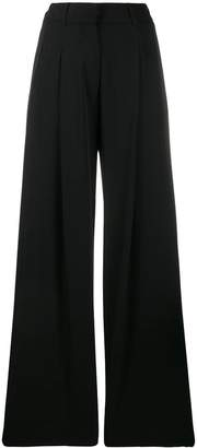 Guardaroba wide leg tailored trousers