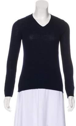 Prada Cashmere V-Neck Sweater