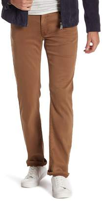 Fidelity Jimmy Lumina Slim Straight Leg Twill Pants