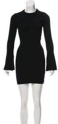 Alice + Olivia Long Sleeve Wool Sweater Dress w/ Tags