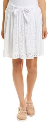 Three Dots Eyelet Skirt