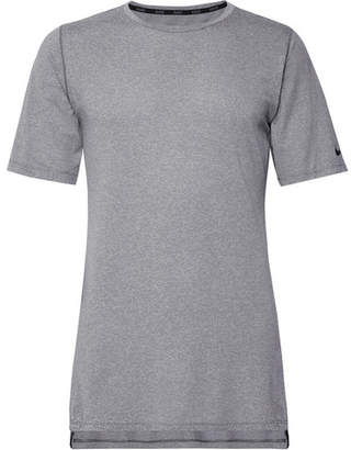 Nike Training Utility Mélange Dri-Fit Mesh T-Shirt