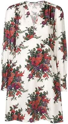 McQ Vintage Floral mini dress