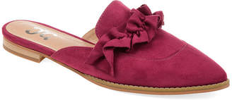 Journee Collection Womens Kessie Mules Slip-on Pointed Toe