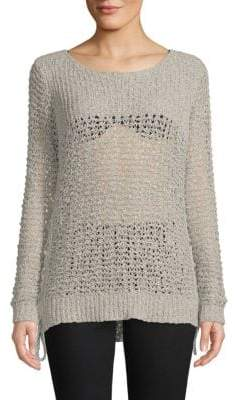 BB Dakota Ella Perforated Sweater