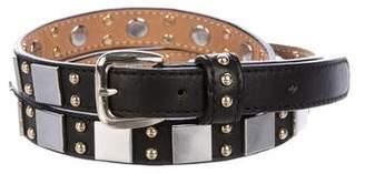 Temperley London Studded Wraparound Leather Belt