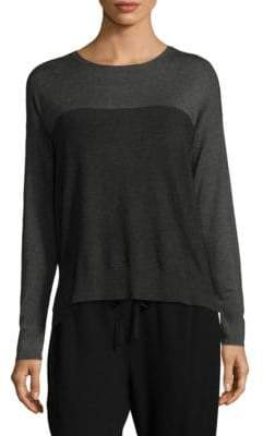 Eileen Fisher Long-Sleeve Box Sweater