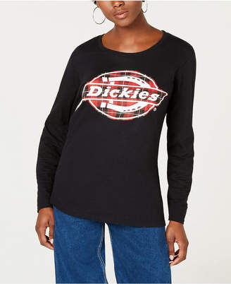 Dickies Long-Sleeve Graphic Cotton T-Shirt