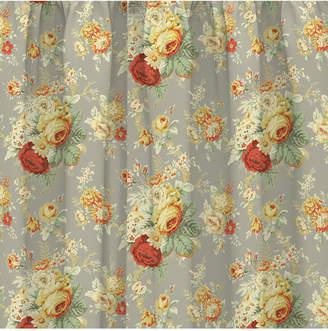 Waverly Sanctuary Rose Peek-a-Boo Window Valance