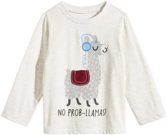 First Impressions Toddler Boys Llama-Print T-Shirt