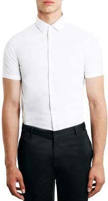 Topman Skinny Fit Short Sleeve Shirt