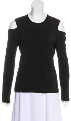 Rag & Bone Cold Shoulder Long Sleeve Top