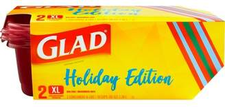 Glad Holiday Edition Food Storage Containers - 2ct