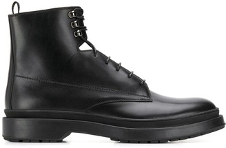 HUGO BOSS lace up ankle boots