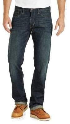 Levi's 514 Kale Straight-Fit Cotton Jeans