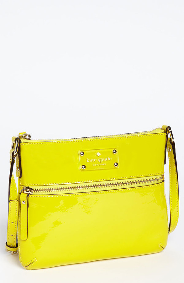 Kate Spade New York 'flicker - Tenley' Patent Crossbody Bag