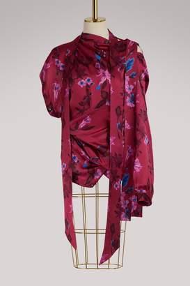 Balenciaga Asymmetrical blouse