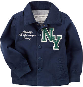 Carter's Boys Varsity Jacket-Toddler 2T-5T