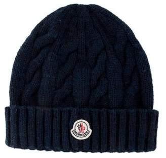Moncler Logo Knit Beanie