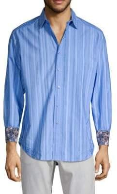 Robert Graham Lopez Striped Button-Down Shirt
