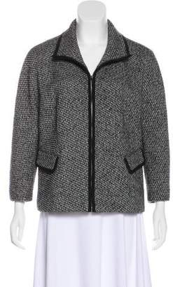 Lafayette 148 Virgin Wool Tweed Jacket