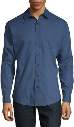 Onia Men's Abe Long-Sleeve Button-Down Shirt