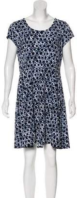 MICHAEL Michael Kors Printed Short Sleeve Dress