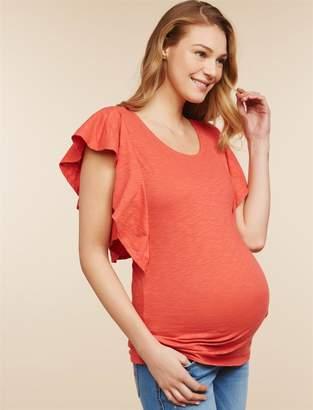 Jessica Simpson Motherhood Maternity Cross Back Maternity Top