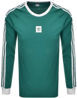 adidas Long Sleeve T Shirt Green
