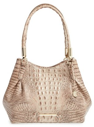 Brahmin 'Judith' Croc Embossed Leather Hobo $355 thestylecure.com