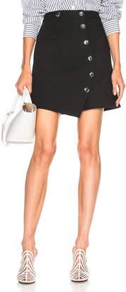 Tibi A Line Mini Skirt in Black | FWRD