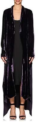 Juan Carlos Obando Women's Victoria Velvet Robe Coat