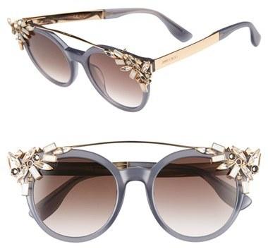 Jimmy ChooWomen's Jimmy Choo 'Vivy' 51Mm Sunglasses - Gray Opal
