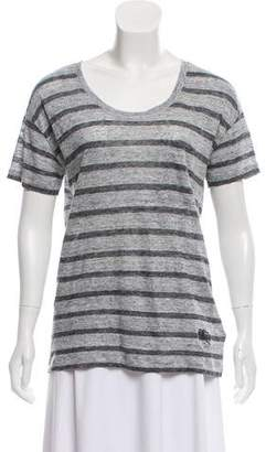 Burberry Striped Knit Top
