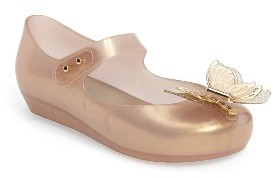 Toddler Girl's Mini Melissa Ultragirl Fly Mary Jane Flat $62.95 thestylecure.com