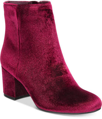 Zigi Rebel by Nanon Block-Heel Booties Women's Shoes