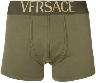 Versace logo waistband boxers