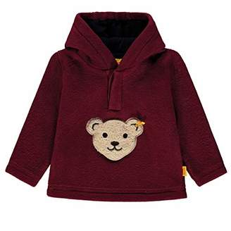 Steiff Boy's Sweatshirt 1/1 Arm Fleece (Burgundy red 2761)