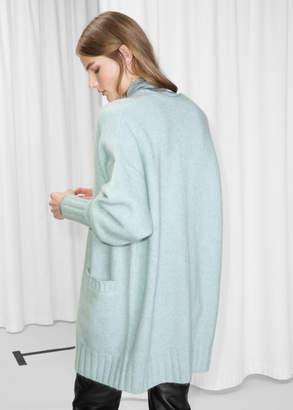 Blend of America Wool Oversized Cardigan