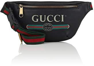 Gucci Men's Logo Small Leather Belt Bag