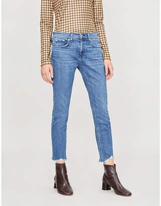 Rag & Bone Dre mid-rise stretch-denim jeans