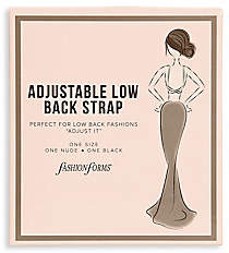 Fashion Forms Women's Adjustable Low Back Straps